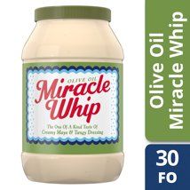 Mayonnaise: Miracle Whip with Olive Oil