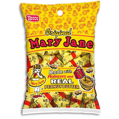 Mary Jane, Original Molasses & Peanut Butter Candy, 6 Oz