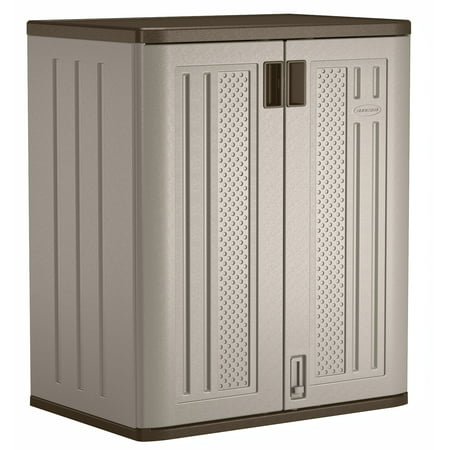 Gray Locking Storage Cabinet - Suncast 30