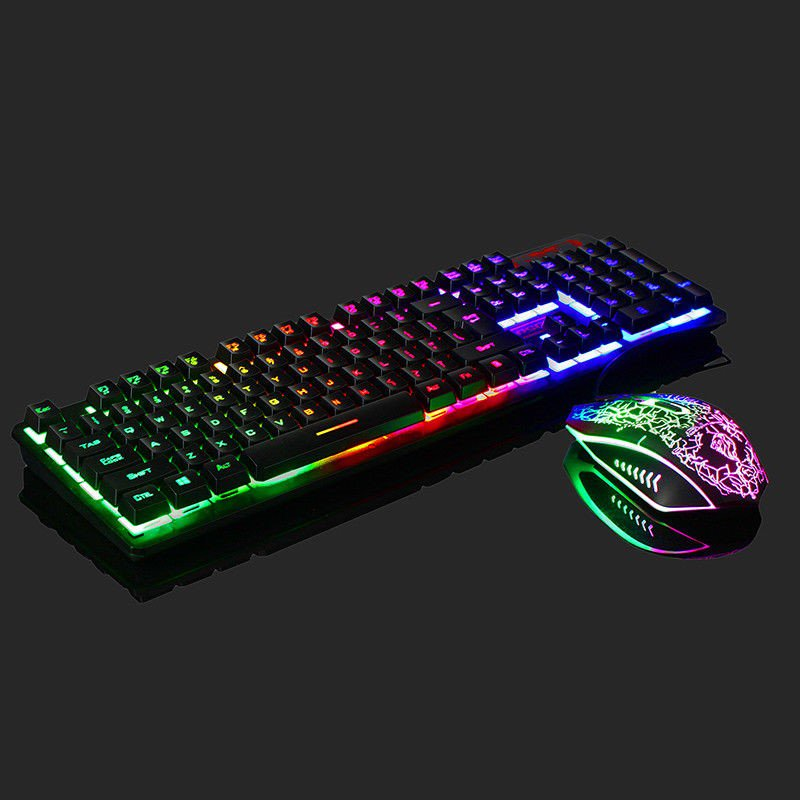 V.I.P. Rainbow Gaming Keyboard and Mouse Set