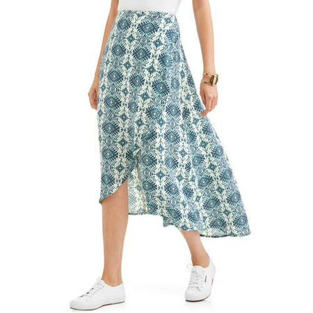Reversible Wrap Skirt (Women's Wrapped Skirt)