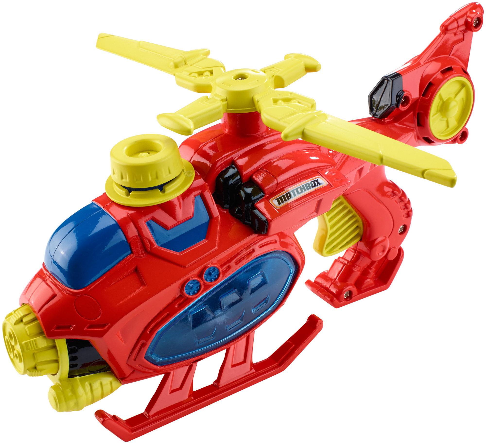 Matchbox Firefighter Aqua Chopper with Water Cannon