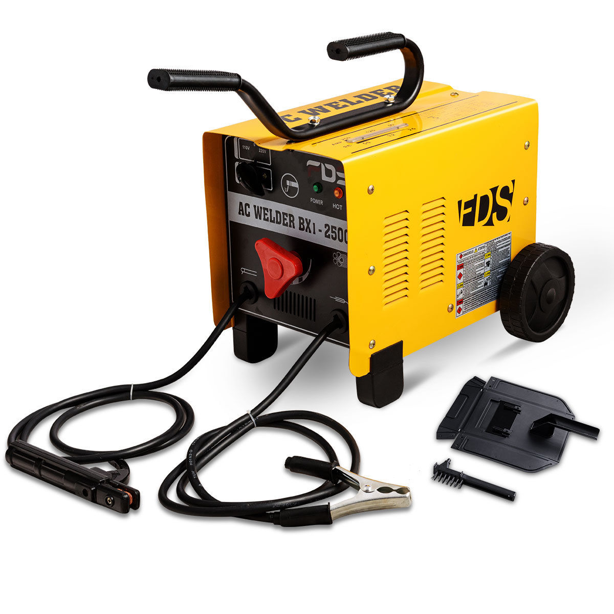 Costway 110V/220V ARC 250 AMP Welder Welding Machine Soldering Accessories Tools