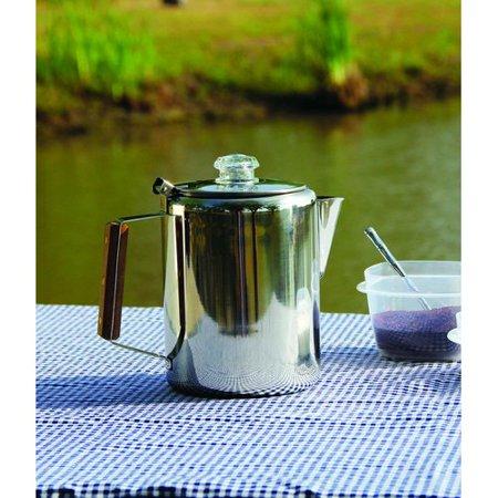 - Texsport 9-Cup Stainless Percolator