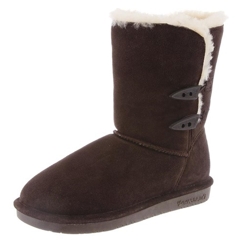 """Bearpaw Abigail Chocolate 7 Womens Abigail"" by Bearpaw"