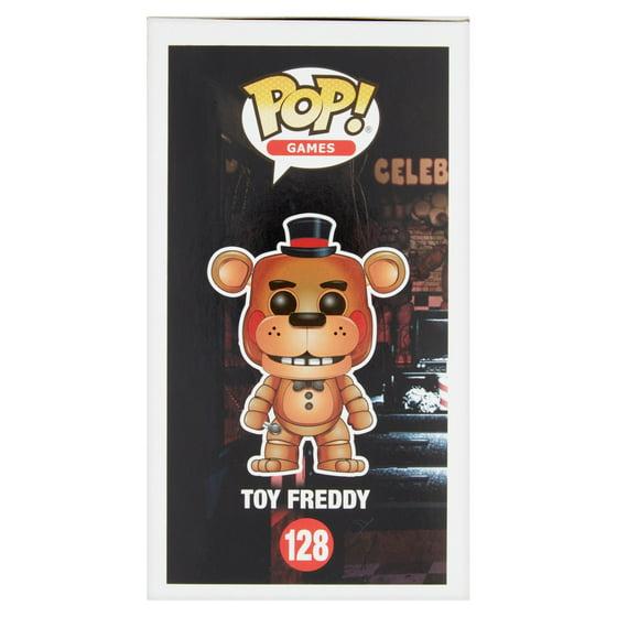 Pop! Games Five Nights at Freddy's 128 Toy Freddy Vinyl Figure Age 8