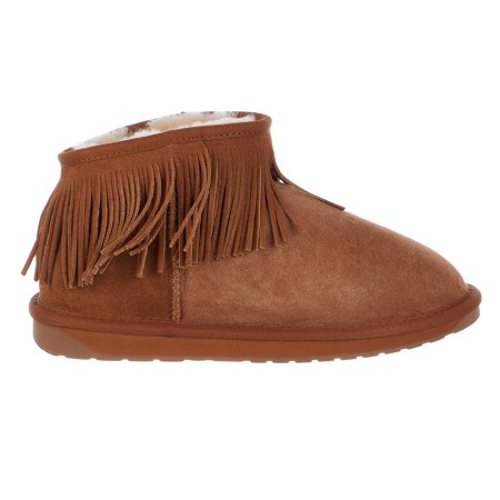 Emu Australia Winter Snow Waterfall Sheepskin Boots  - Women (Long Fall Boots Tutorial)