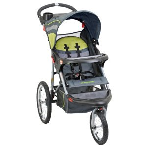 Baby Trend Expedition Swivel Jogger Baby Jogging Stroller - Carbon JG94710