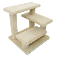New Cat Condos 21 in. Solid Wood Pet Stairs Cat Tree