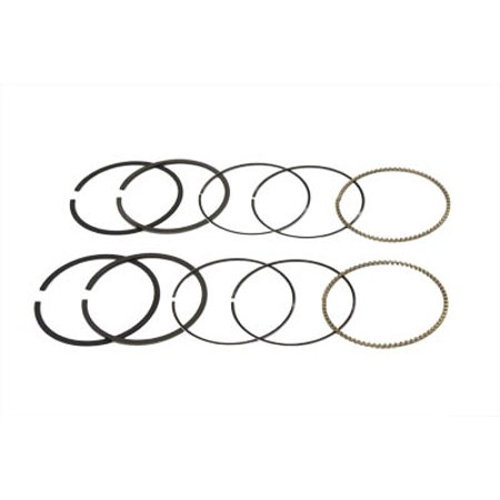 88 Twin Cam Moly Piston Ring Set .020,for Harley Davidson