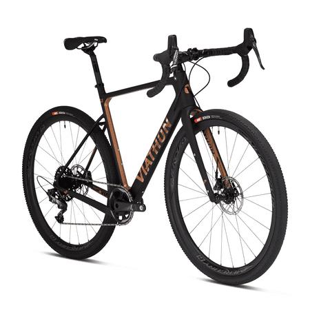 2020 Viathon G.1 Force Carbon Gravel Bike, 56cm, Copper