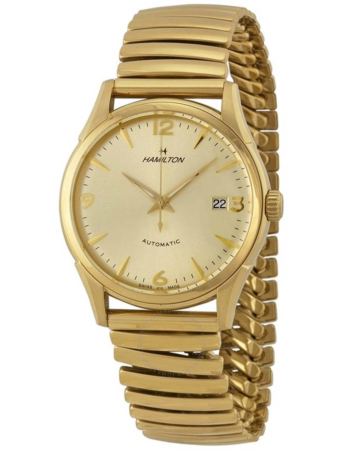 Timeless Classic Thin-o-matic Gold-Tone Automatic Men's Watch, H38435221