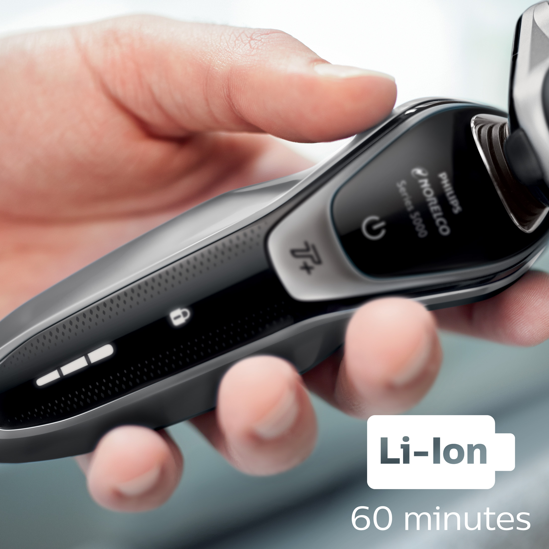 Philips Norelco Electric Shaver 5750, Wet & Dry, S5660/84, with ...