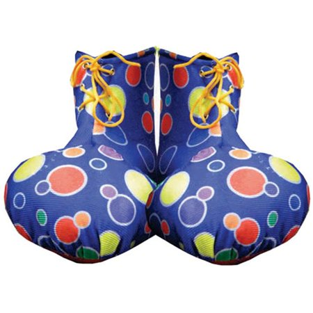 Yellow Clown Shoe Covers - Adult