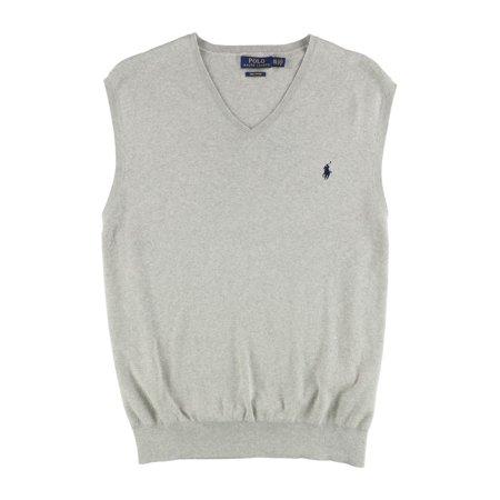 c4635bc22aa7 Polo Ralph Lauren - Pima Cotton V-Neck Sweater Vest - Walmart.com