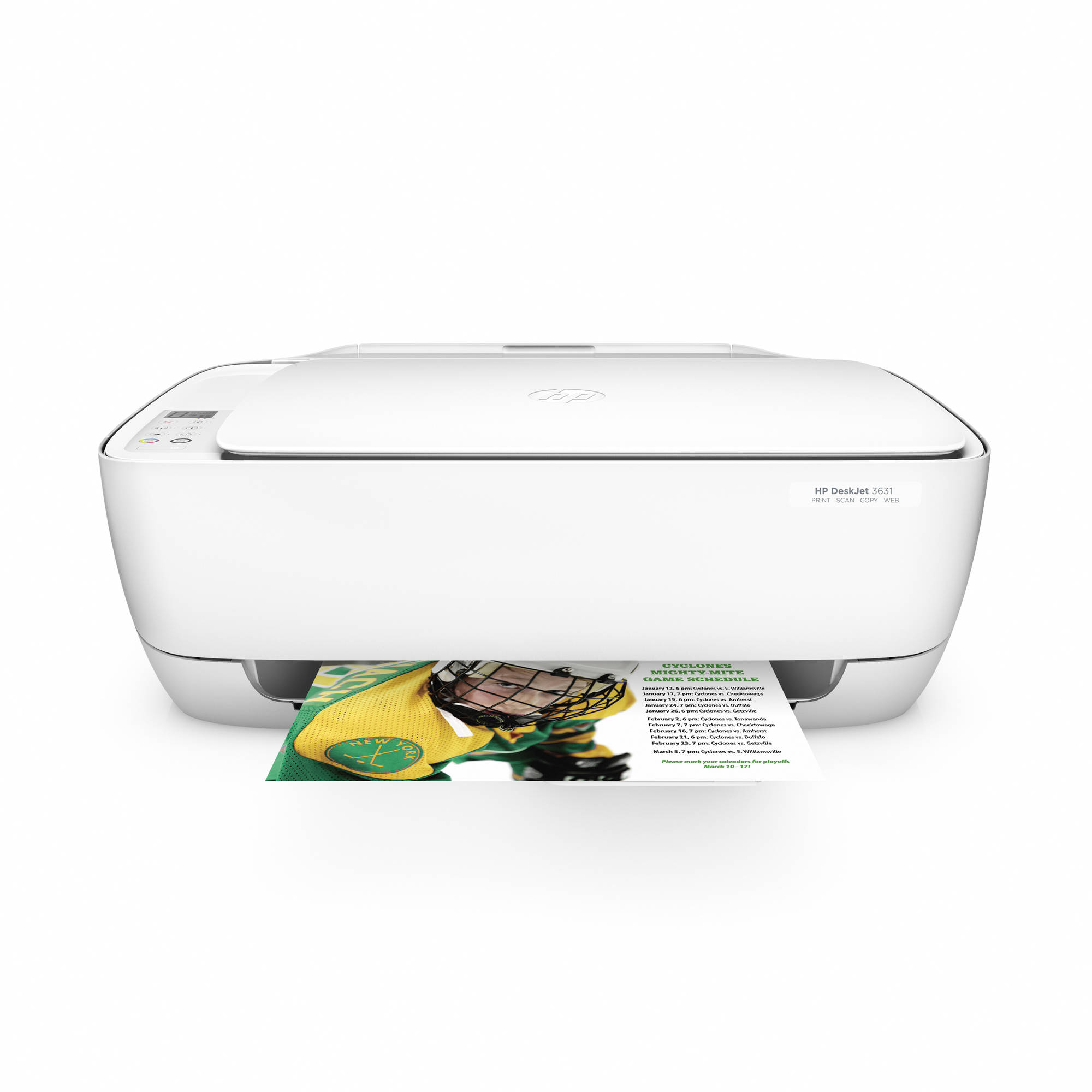 HP DeskJet 3631 All-in-One Compact Printer with Wireless Printing (K4T94A)