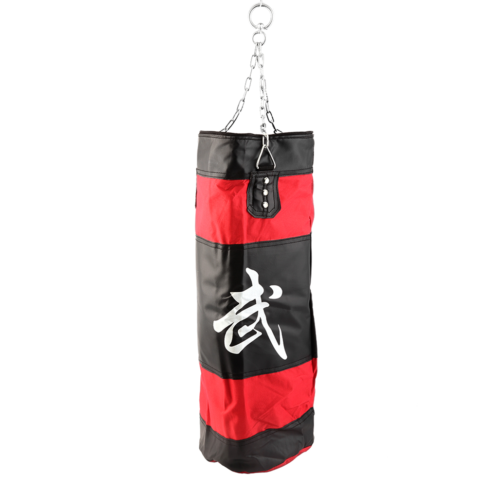70cm Boxing Empty Punching Sand Bag with Chain Training Practice Martial by