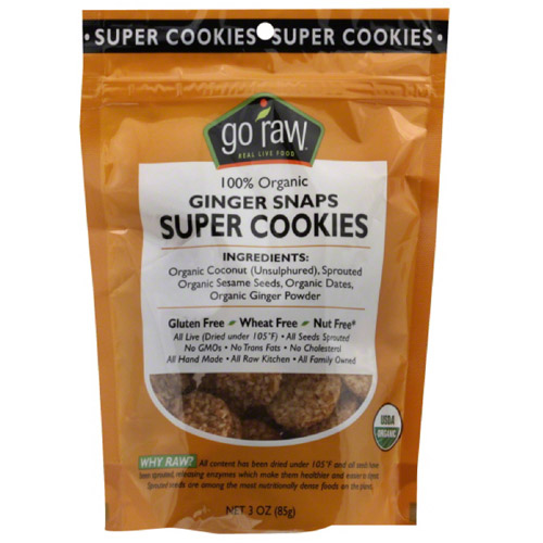 Cookie Super Gngr Snap Org, 3 Oz  (pack