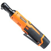 VonHaus Cordless Electric Ratchet Wrench Set with 12V Lithium-Ion Battery and Charger Kit
