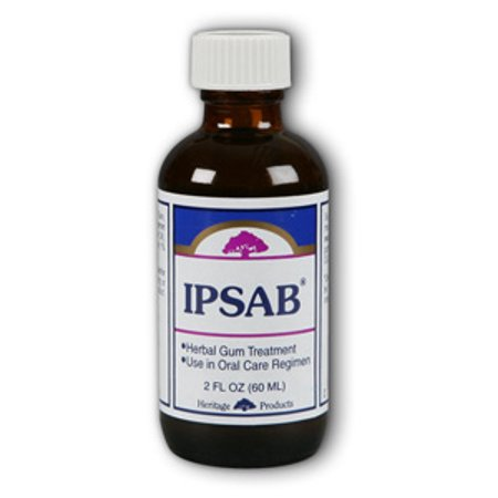 Ipsab Gum Treatment Heritage Store 2 oz Liquid