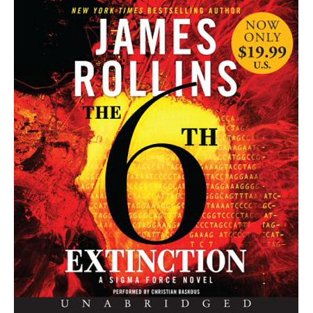 Sigma Force: The 6th Extinction Low Price CD (Audiobook)](Low Price Website)