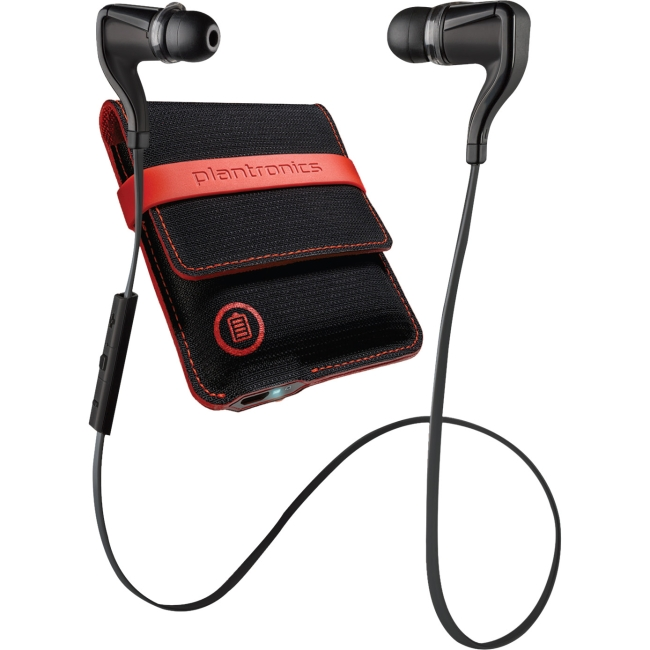 Plantronics BackBeat GO 2 In Ear Bluetooth Stereo Headphones w/Charging Case
