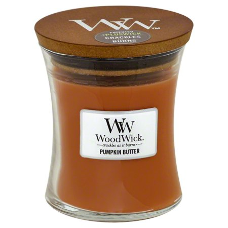 WoodWick Medium Hourglass Candle - Pumpkin Butter