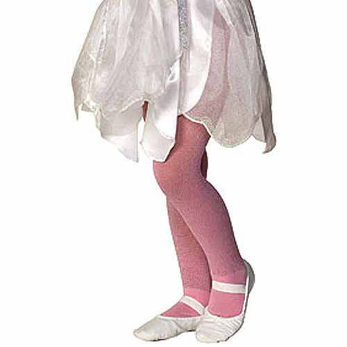 Child Girls Glitter Sparkle Pink Tights Pantyhose Stockings Costume Accessory