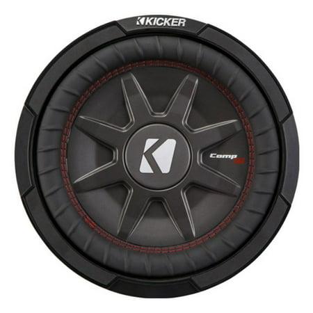 Kicker CompRT Single 10 Inch 800 Watt Max Dual 2 Ohm Shallow Slim Car