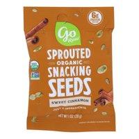 (Price/case)Go Raw - Seeds Sweet Cinnamon Sprtd - Case of 12 - 1 OZ