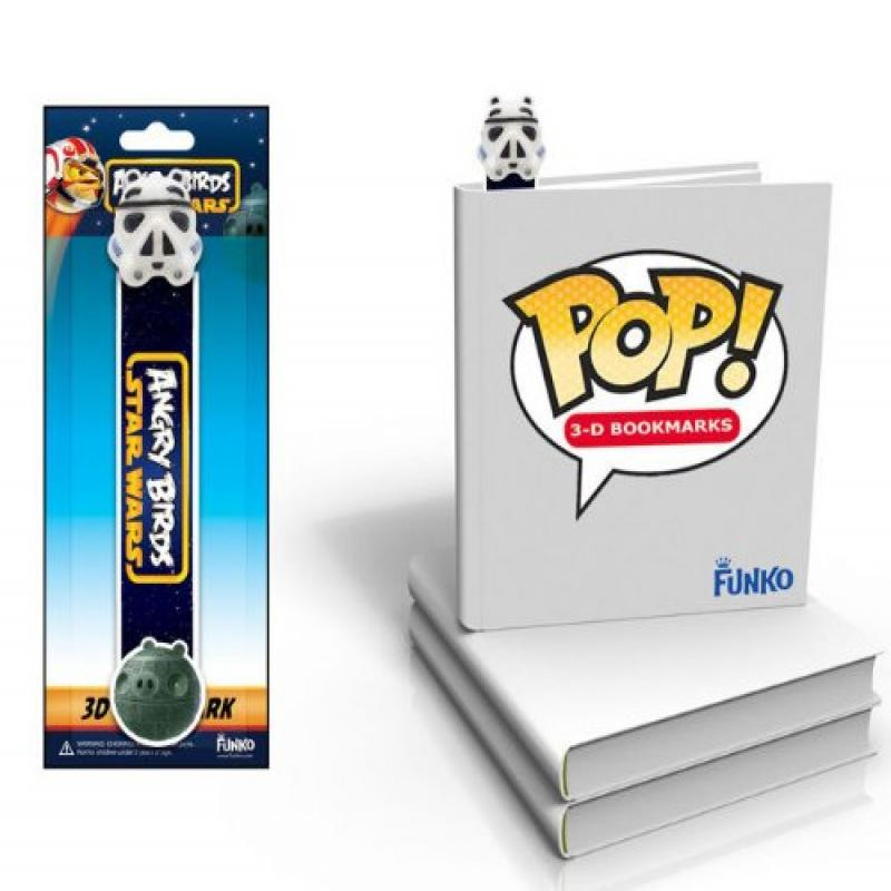 POP Angry Birds Star Wars Storm Trooper 3D Bookmark by FunKo