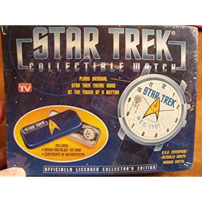 star trek (original series) musical collectible watch