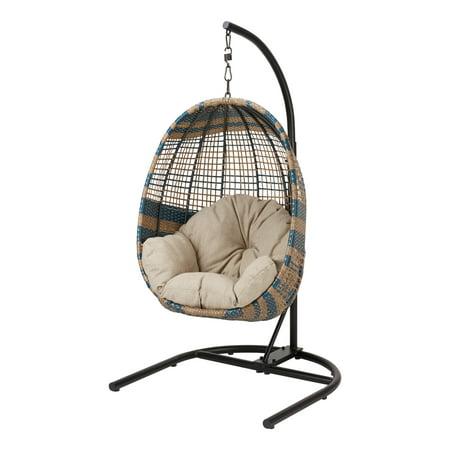 Better Homes Amp Gardens Two Tone Woven Egg Chair Brickseek