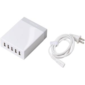 Sabrent 50W 5-Port USB Wall Charger - 50 W Output Power -...