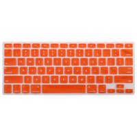 Laptop  bluethooth Silicone Keyboard Protector Cover Orange for iMac