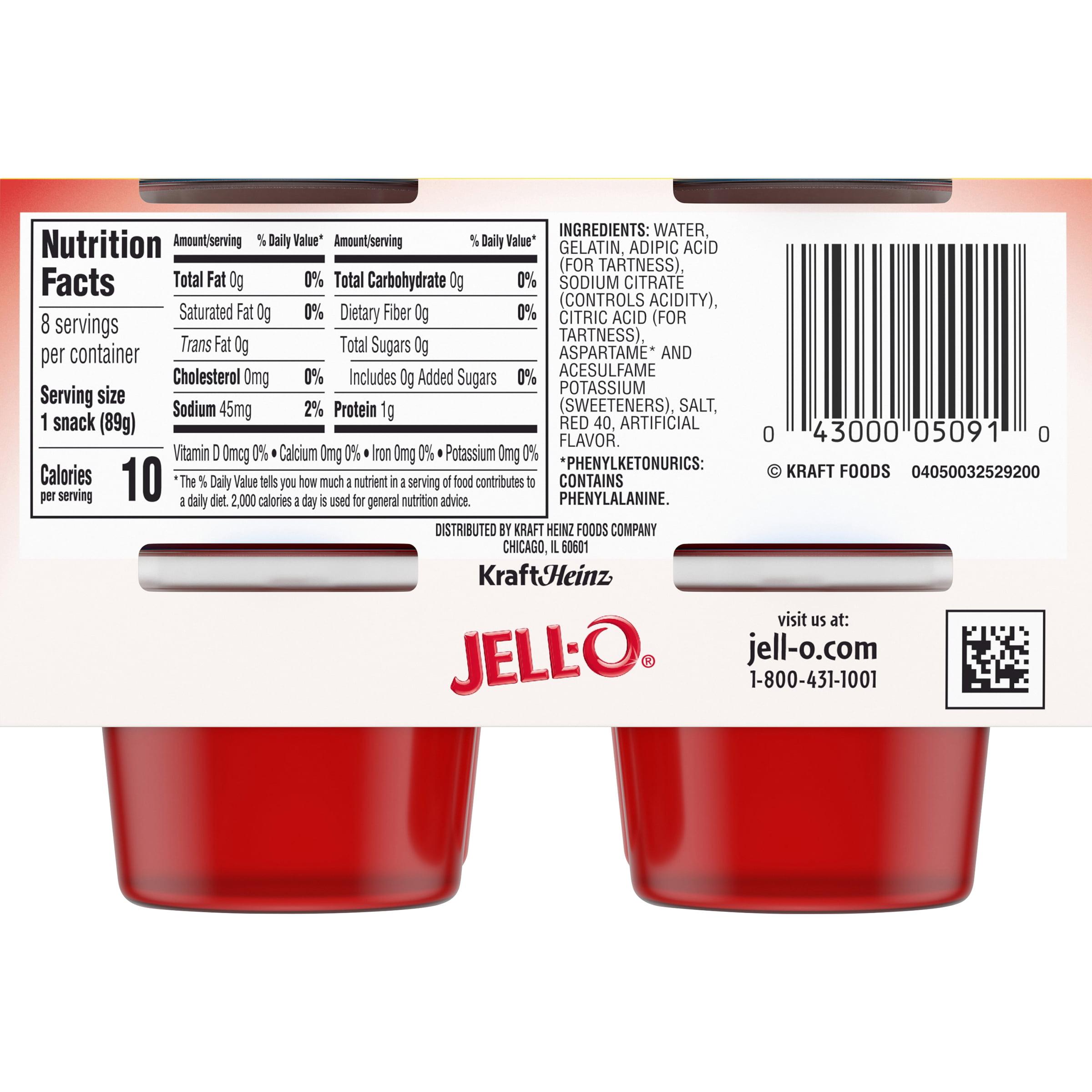 Jell-O Sugar Free Ready to Eat