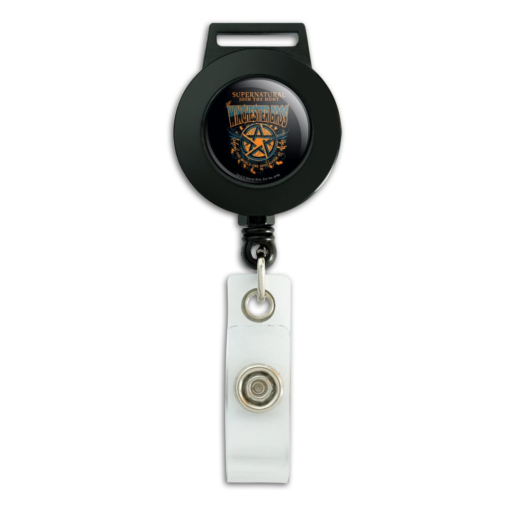 Premium Lanyard Supernatural TV Show Themed Hook /& Phone String Keychains or ID Badge Holders