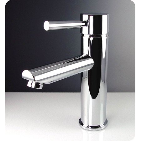 Tartaro Single Hole Mount Bathroom Vanity Faucet in Chrome