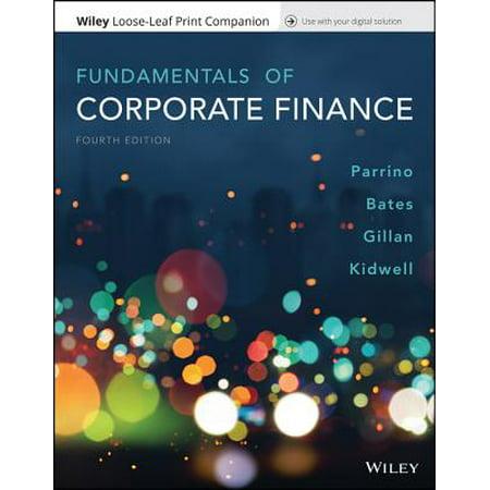 Fundamentals of Corporate Finance, Loose-Leaf Print