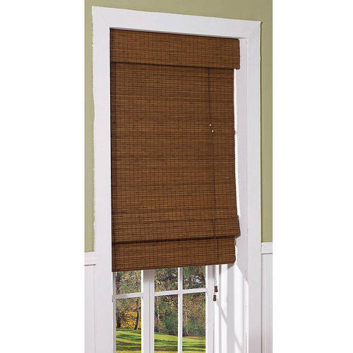 Radiance Bamboo Cape Cod Roman Shade Maple Walmartcom