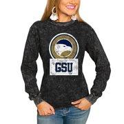 Georgia Southern Eagles Women's Good Vibes Long Sleeve T-Shirt - Charcoal