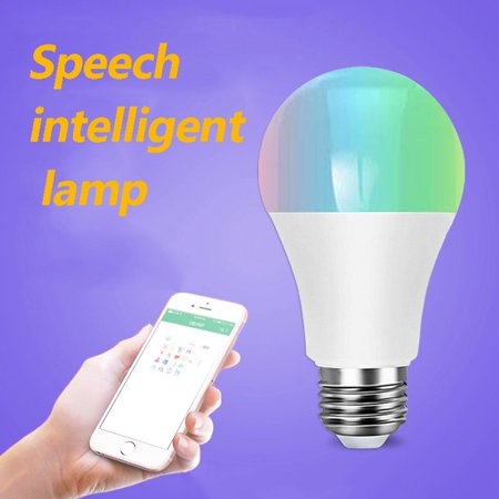 Wifi Smart Light Bulb Dimmable Multicolor Wake Up Lights Lamp Voice
