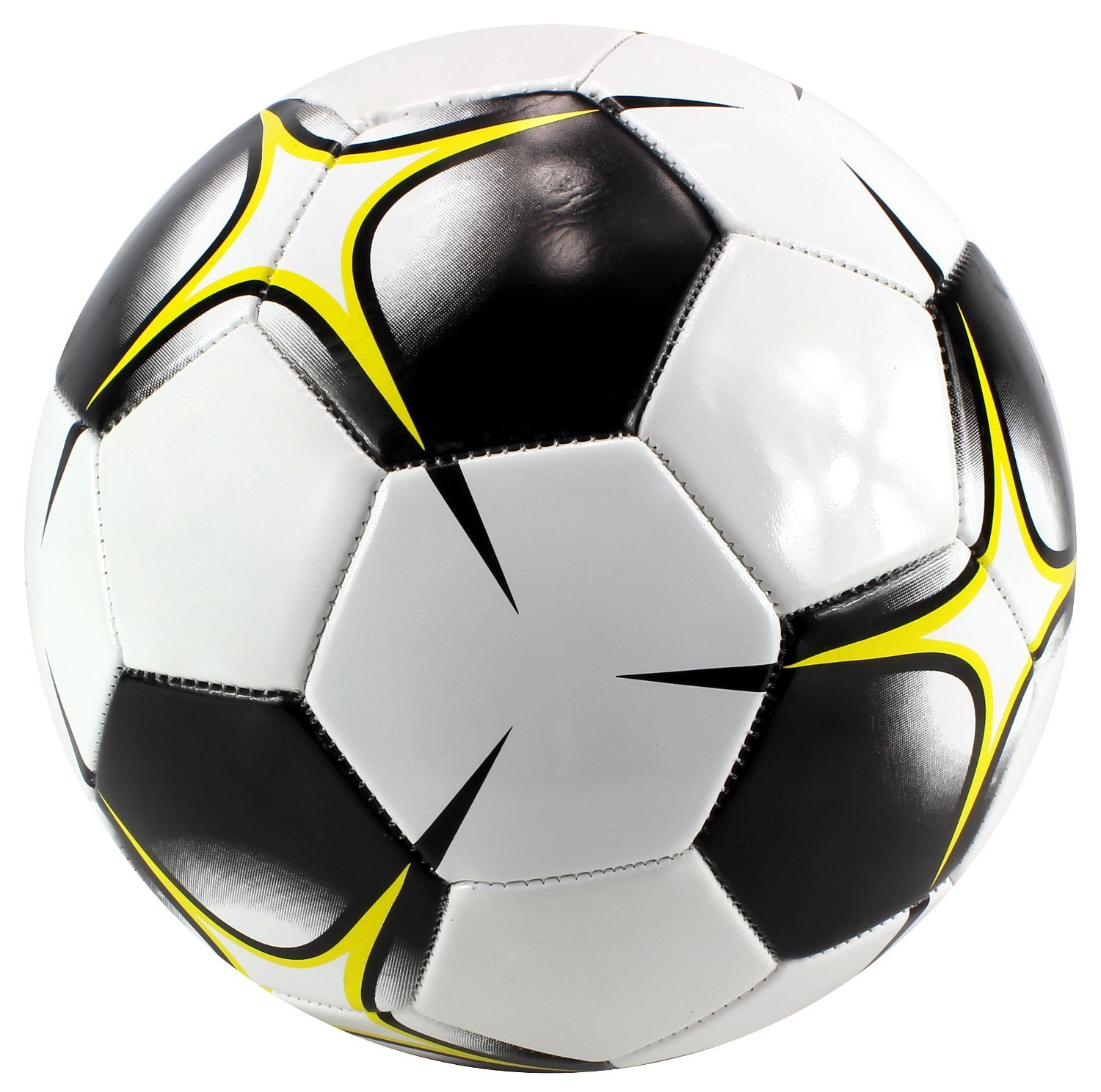 Jesn Sport Traditional Sewn Cross Children's Kid's Toy Soccer Ball, Add On for Sports... by