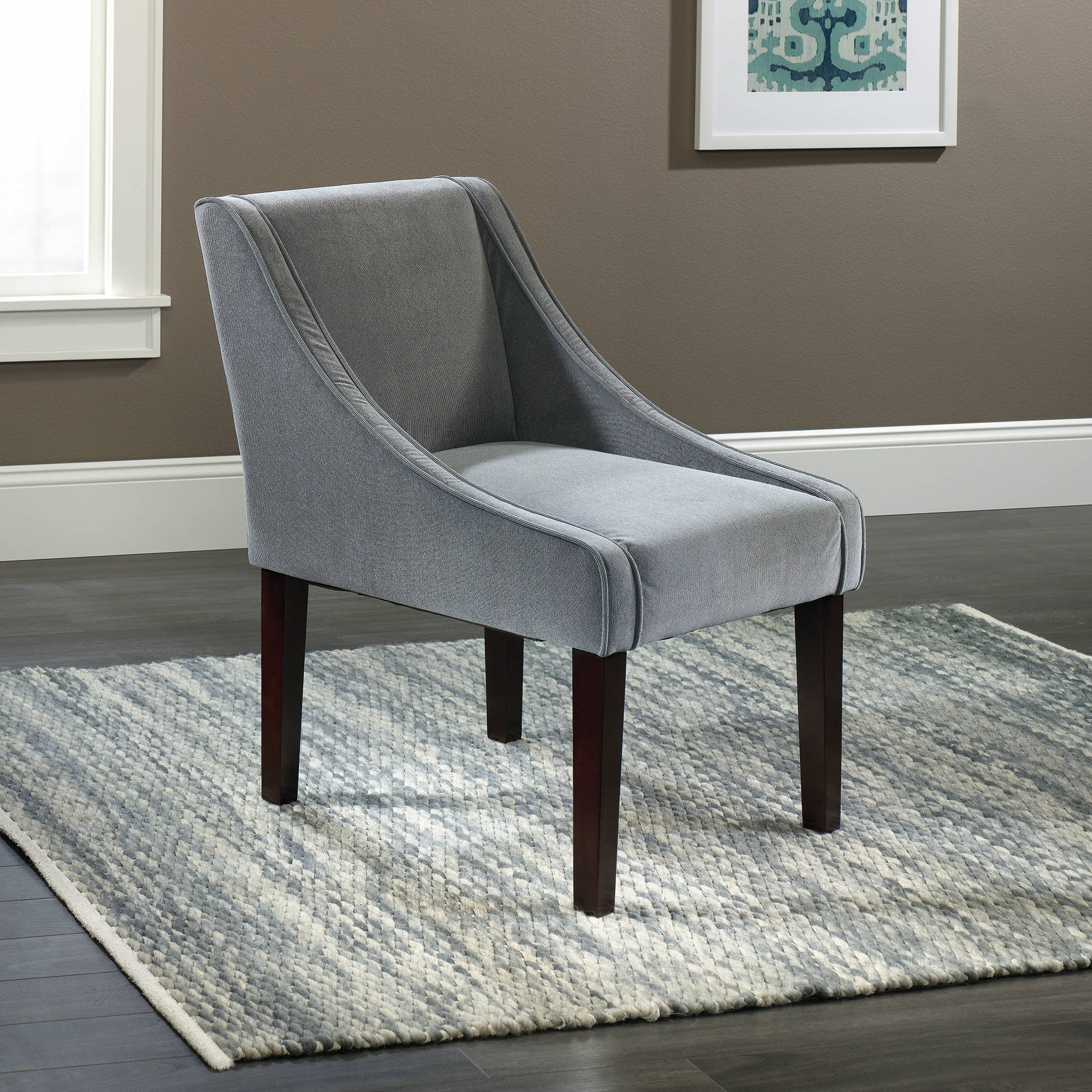 Sauder Arlie Accent Chair, Gray Finish