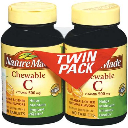 Nature Made Vitamin C Chewable Tablets