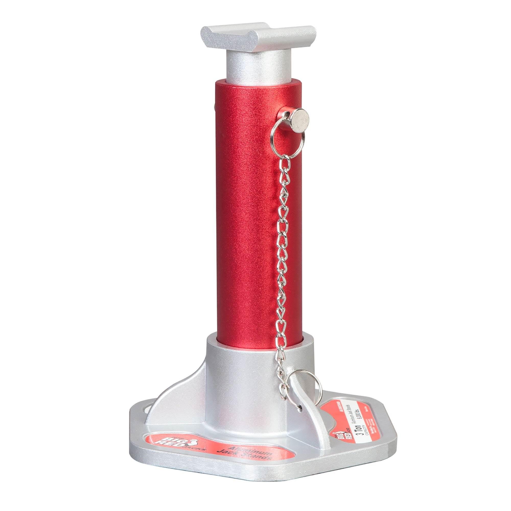 Torin Big Red Aluminum Jack Stands 1 Pair 3 Ton Capacity