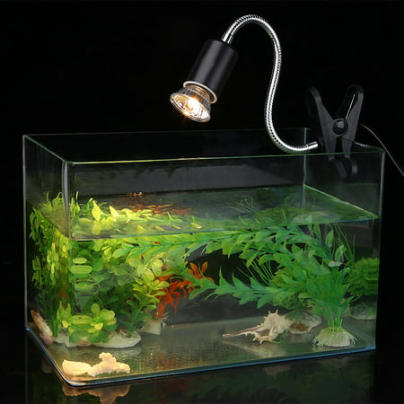 Ymiko Heating Light, Aquarium Heating Light,75W Heating Light Bulb Aquarium Lamp for Pet Reptile Turtles Angel Fish Lamp