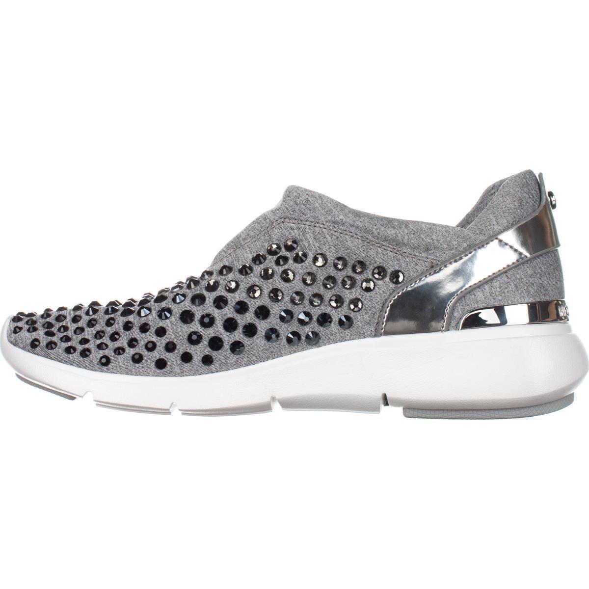 bf559b3a038f Michael Kors - Womens MICHAEL Michael Kors Ace Trainer Rhinestone Fashion  Sneakers
