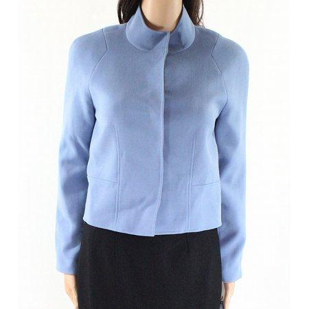 Tahari by ASL Womens Petite Stand-Collar Button-Up (Petites Mandarin Collar Jacket)