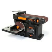 WEN 4.3-Amp 4 x 36-Inch Belt and 6-Inch Disc Sander with Cast Iron Base, 6502T
